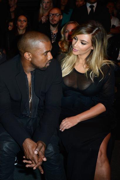 La pareja fue invitada a la pasarela de Givenchy en París.