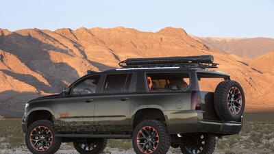 Chevrolet Suburban Luke Bryan Concept, diseñada a ritmo de country