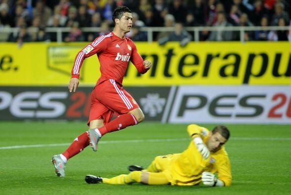 El primer grito de la noche lo puso Cristiano Ronaldo.