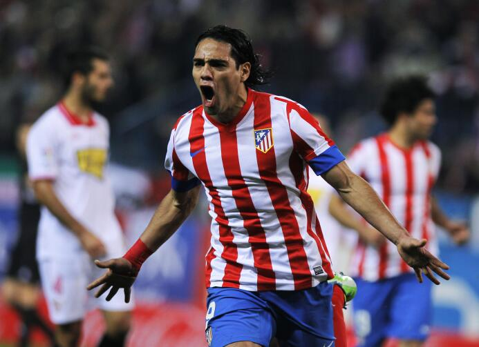 De 2011 a 2013 el Tigre Radamel Falcao García se puso la camiseta del At...