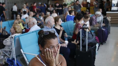 Sarai Class esperó más de dos días en el aeropuerto de San Juan para pod...