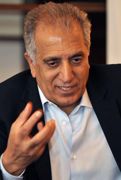 Los detalles fueron escritos en una reunión por Zalmay Khalilzad quien e...