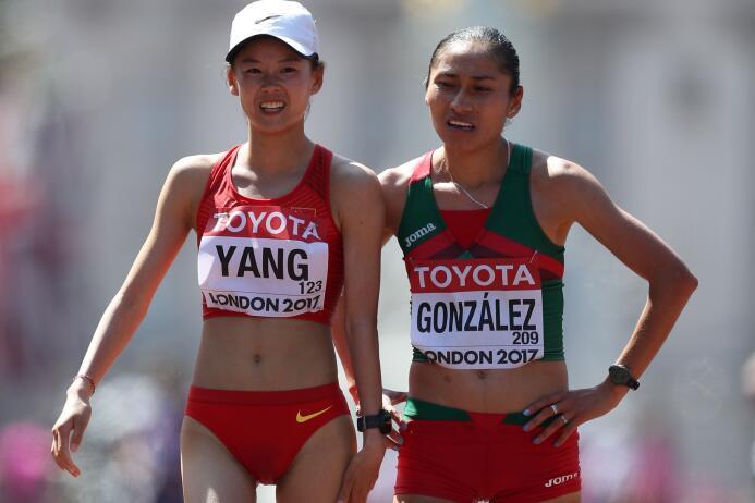 Lupita González, la guerrera del atletismo mexicano GettyImages-83099721...