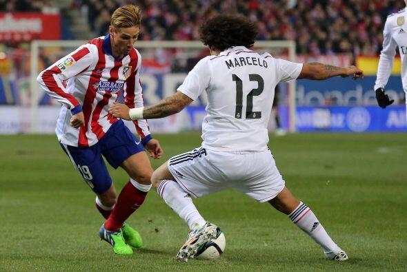Fernando Torres jugó 59 minutos, en los que fue aplaudido en un regreso...
