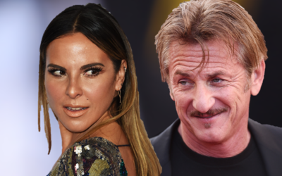 Kate del Castillo y Sean Penn.