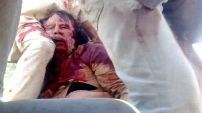 Muamar Gadafi murió en la batalla de Sirte; las reacciones en el mundo n...