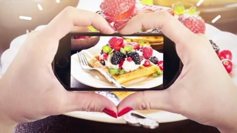 Instagram, la red social que los foodies prefieren