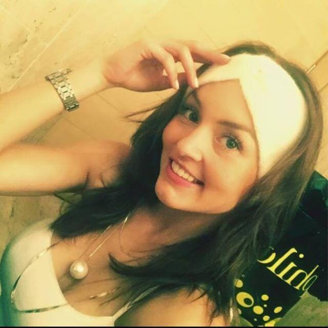 """Angelique Boyer en """"Frente al Mismo Rostro"""""""