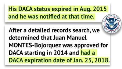 Los dos emails que el Departamento de Seguridad Nacional (DHS) mand&oacu...