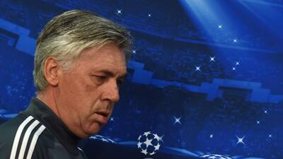 El técnico del Real Madrid celebró la recuperación de Cristiano Ronaldo...
