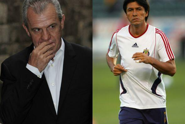 Claudio Suárez Vs. Javier Aguirre.Previo al Mundial del 2002, Claudio Su...