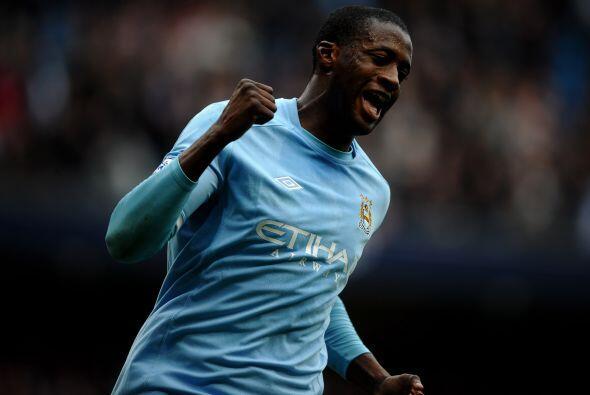 Por si fuera poco, Yaya Touré cerró la cuenta con el 5-0 y...