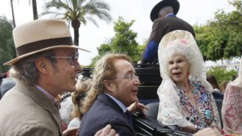 La duquesa de Alba, la aristócrata con más títulos nobiliarios del mundo...