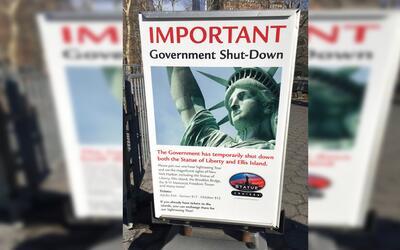 El cierre del gobierno ha afectado a parques y monumentos nacionales.