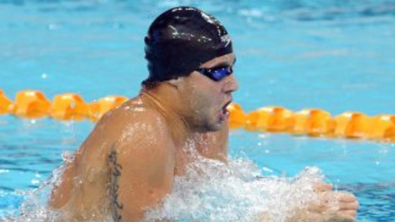 El brasileño en la prueba de 400 metros cuatro estilos.