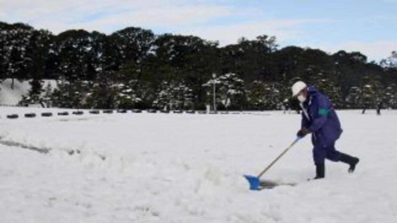 Una excepcional tormenta de nieve dejó al menos 11 muertos y 1,250 herid...