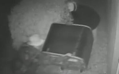 Captan en cámara a una pareja que robó nueve aires acondicionados durant...