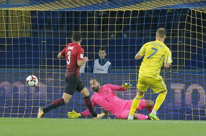 Yarmolenko le dio el triunfo a Ucrania contra Turquía en duelo caliente...