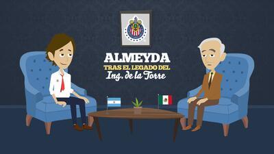 Promo Almeyda tras el legado del Ingeniero De la Torre