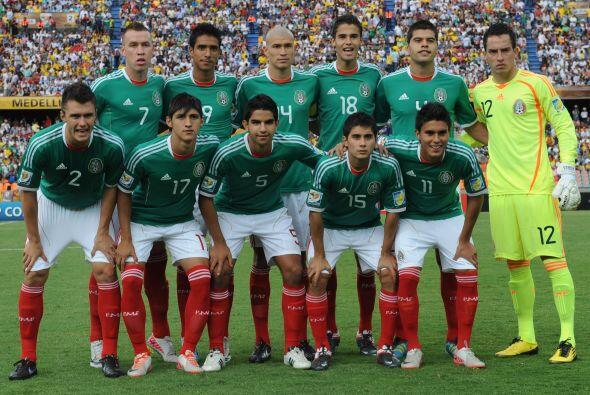 La selección Sub 20 de México también tuvo un 2011 excelente. Salieron t...