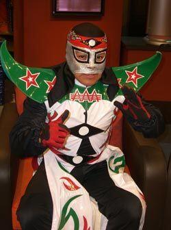 El luchador mexicano Octagoncito.