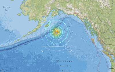 El Servicio Geológico de Estados Unidos (USGS) indicó que...