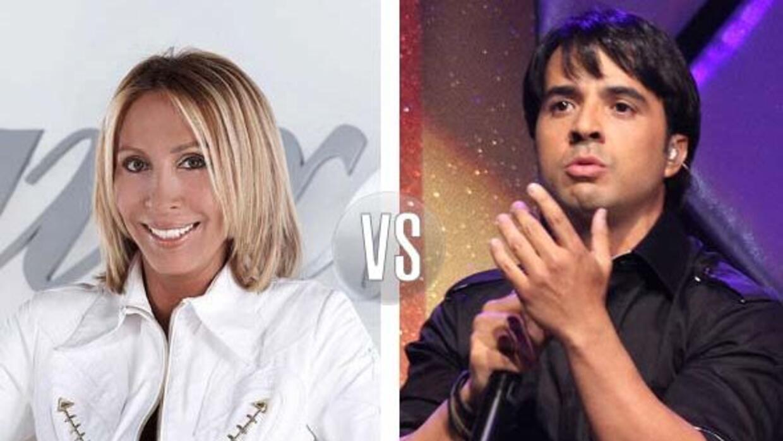 Laura Bozzo, controvertida como siempre, arremetió contra el cantante Lu...