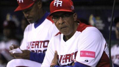 Dirigente de la selección nacional de béisbol de Puerto Rico y primero d...