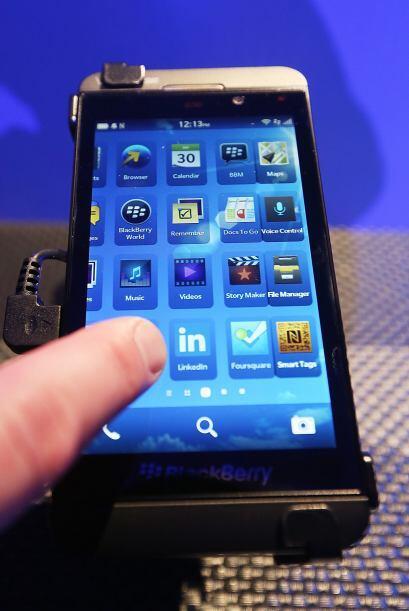 """Otra ventaja clave del BlackBerry 10 es la función """"Balance"""", un sistema..."""