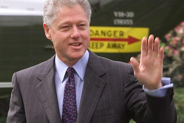 Bill Clinton fue el presidente número 42. El ex gobernador de Arkansas t...