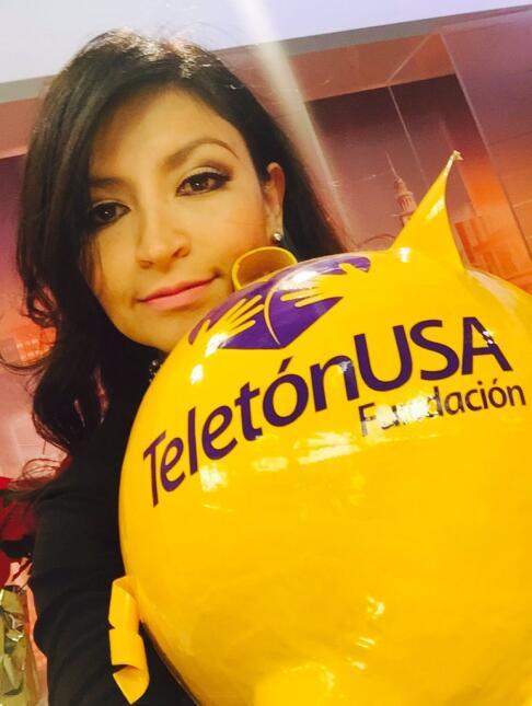 Bárbara Chacón Teletón USA 2015