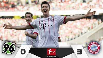 Bayern Múnich afinó la artillería antes de su cita con el Real Madrid