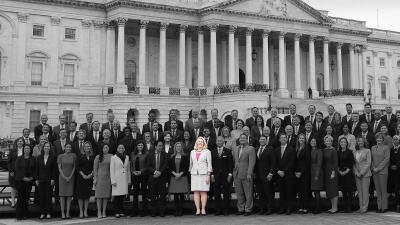Fotos: La poca diversidad republicana contrasta con la plural bancada demócrata