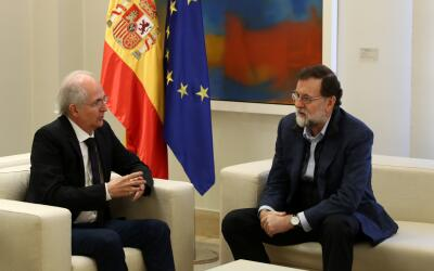 Antonio Ledezma y Mariano Rajoy