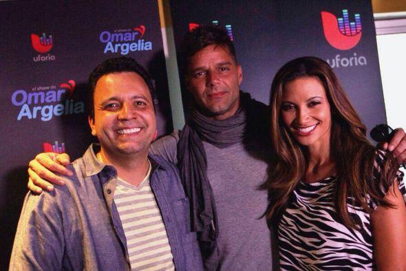 Hace años Ricky Martin fue una de las primeras entrevistas de Omar y Arg...