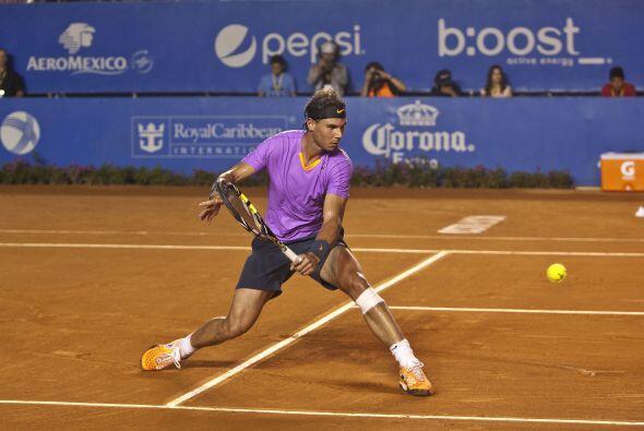 El español Rafael Nadal, quinto en la clasificación mundia...