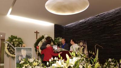 En fotos: así fue el funeral de Rogelio Guerra