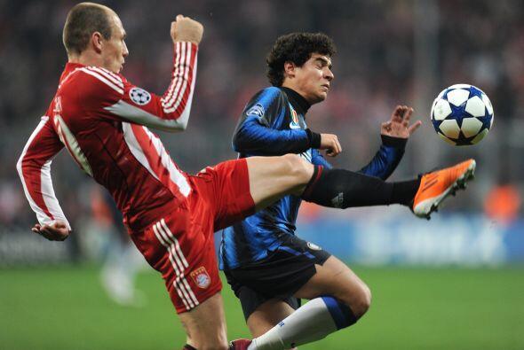 Los alemanes ya estaban preocupados, pues la presión del Inter iba en au...