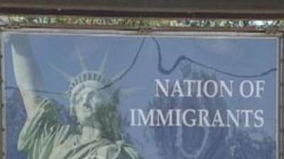 Nuevo letrero que favorece la inmigracion