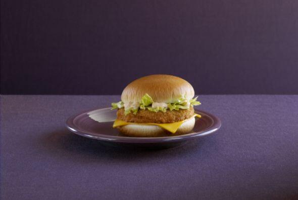 Korea - Shrimp Burger (Hamburguesa de camarones). Foto tomada de Twitter