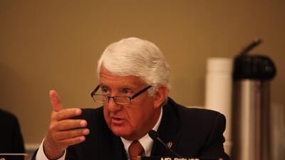 Rob Bishop, líder del Comité de Recursos Naturales de la Cámara de Repre...