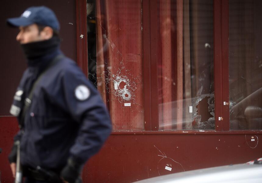 Conmoción en París después de los atentados.