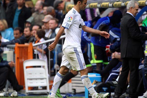 Carvalho no soportó el resultado y se fue a los vestuarios cuando quedab...