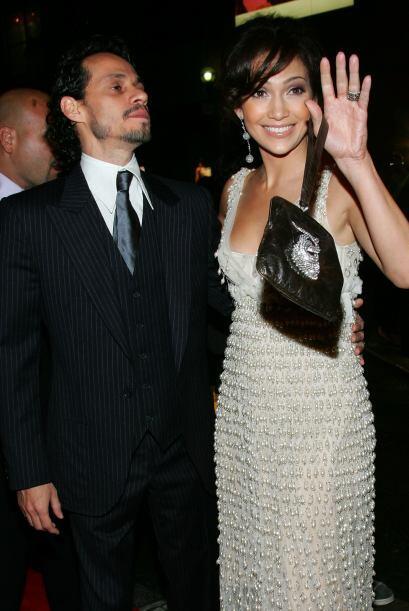 Una de las parejas que parecía ser perfecta era la de Jennifer Lopez y M...