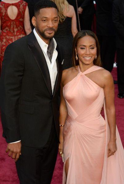 "Los actores Will Smith y jada Pinkett-Smith en la celebración de los ""sc..."