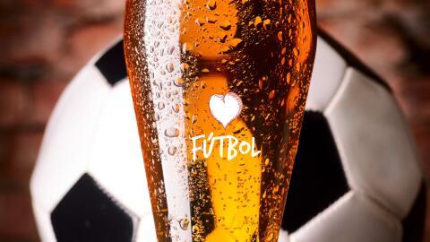 Fútbol y cerveza, dos buenos amigos