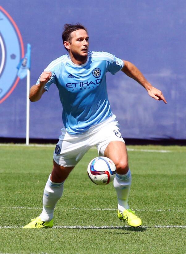 Frank Lampard - el debut del inglés con New York City F.C. se dio el pri...