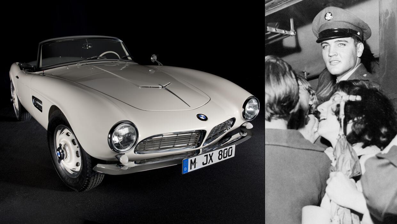 El BMW 507 chasis 70079 después de su restauración por el fabricante y E...