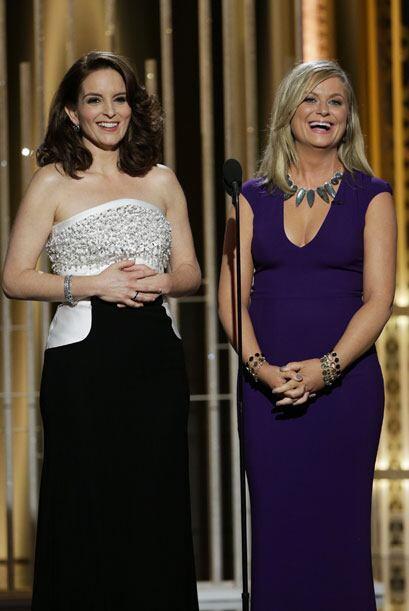 Tina Fey y Amy Poehler provocaron carcajadas una vez más.