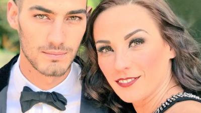 Consuelo Duval y su atractivo hijo